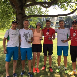 Rudi, Rudi, Kathi, Philipp, Erwin und Lukas