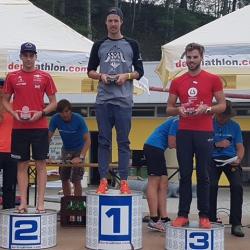 Philipp in seiner AK 3. Platz