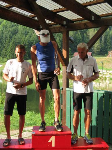 Erich Zimmermann belegte Platz 3 in seiner Altersklasse.