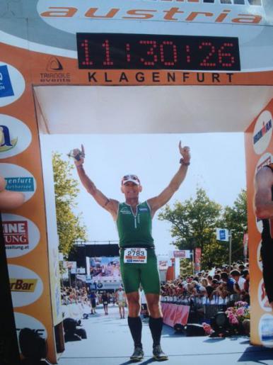 Erich Zimmermann - 15. Ironman Klagenfurt